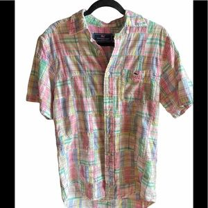 Vineyard Vines Tucker Shirt Madras Sz S